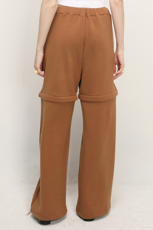 Molly Detachable Splicing Sweat Pants