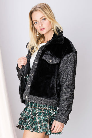Carlie Textured Jacket