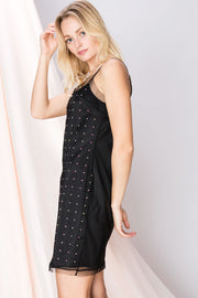 Kimberly Dotted Layered Dress