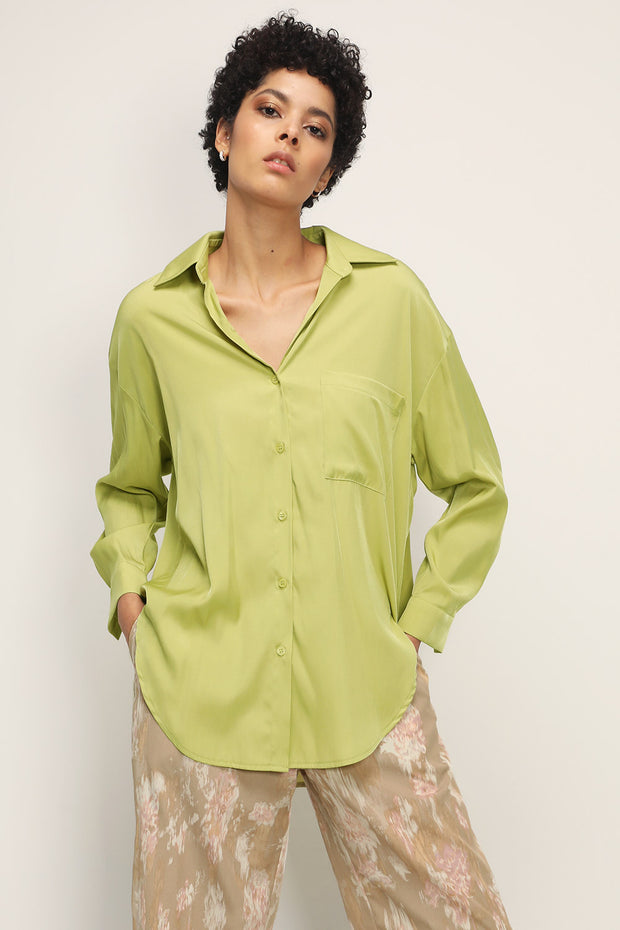 storets.com Malia Oversized Button Down Shirt