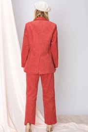 storets.com Solie Corduroy Jacket and Pant Set