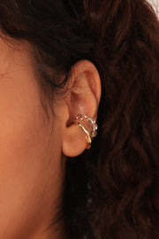 storets.com Golden Ear Cuff 2-Piece Set