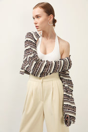 storets.com Aubree Striped Shrug