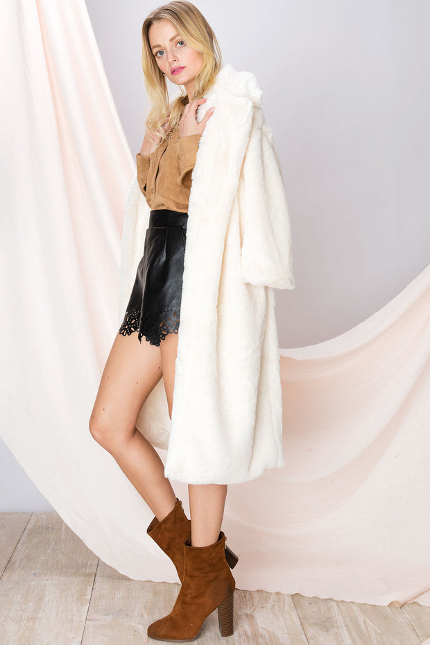 Ivy Plushy Oversized Coat