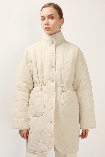 storets.com Blair Quilted Borg Coat