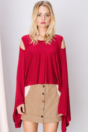 Vera Waterfall Draped Top