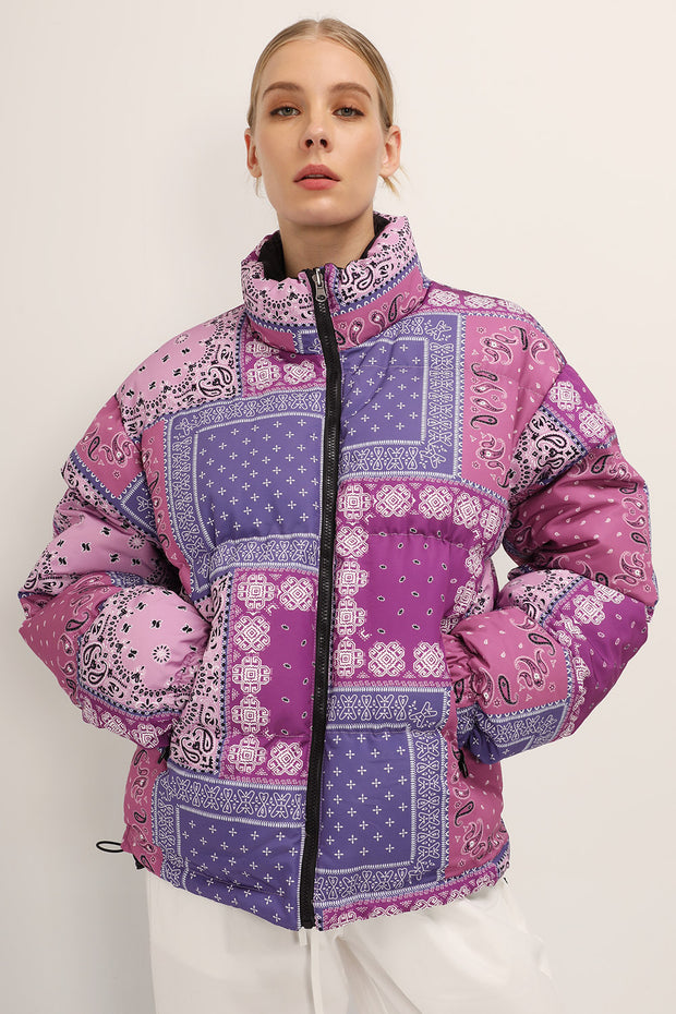 Nevaeh Reversible Puffer Jacket