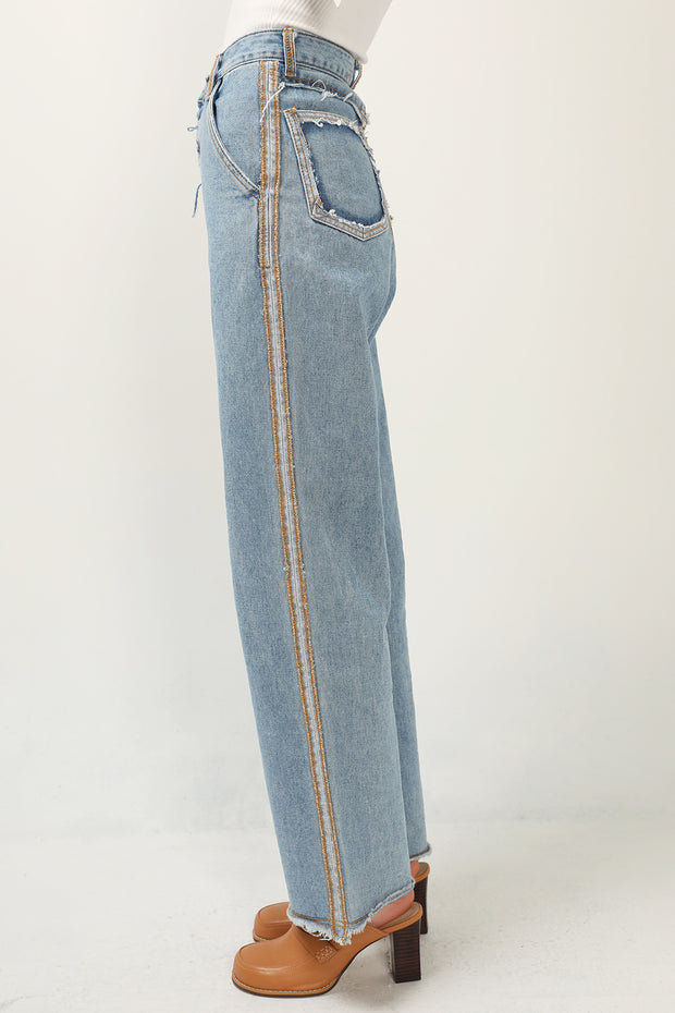 storets.com Kinley Striped Jeans