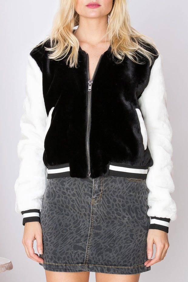 Eliza Cozy Stadium Jacket