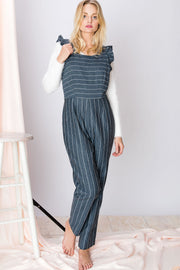 Zoralie Striped Jumpsuit