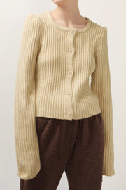 storets.com Isabelle Ribbed Knit Cardigan
