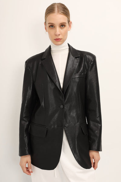 Eden Pleather Jacket