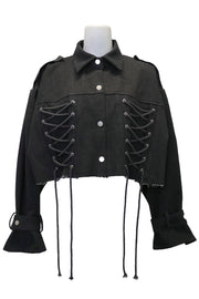 storets.com Laura Corset Detail Cropped Jacket