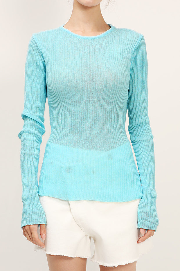 Esther Slim Fit Ribbed Top
