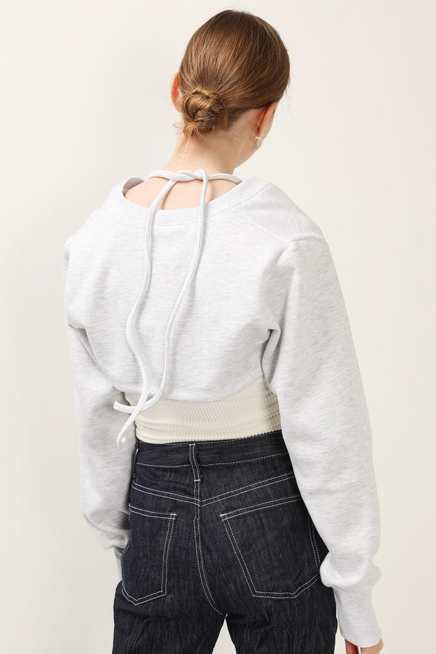 storets.com Daniella Brushed Sweat Shrug