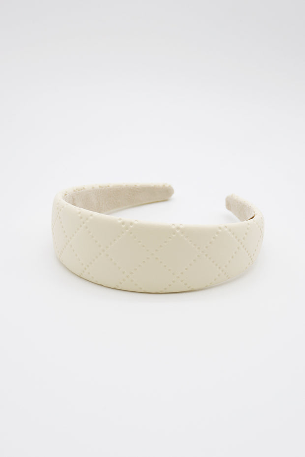 storets.com Quilted Pleather Headband