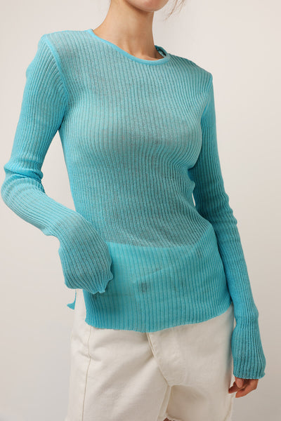 storets.com Esther Slim Fit Ribbed Top