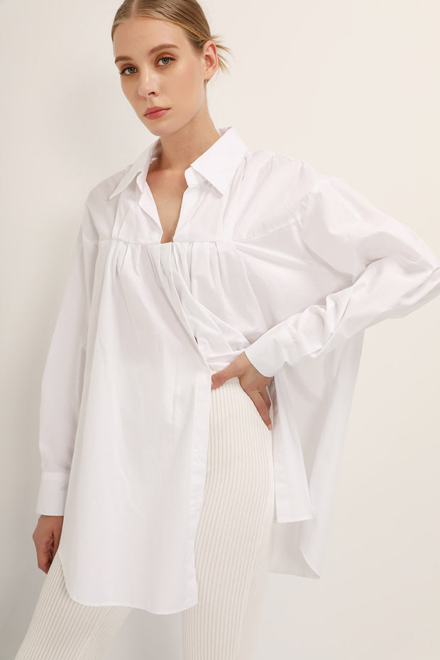storets.com Serenity Pleated Shirt