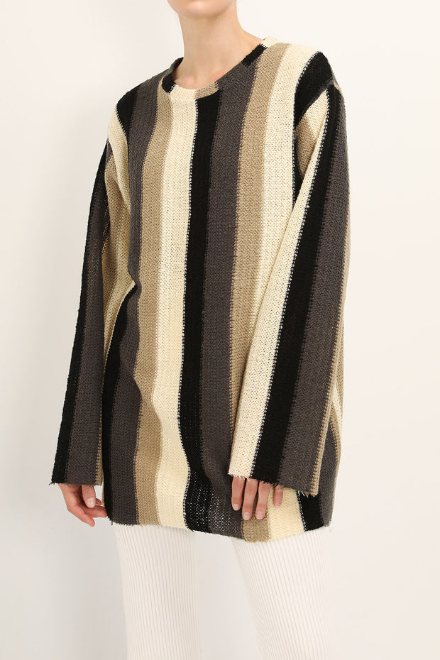 storets.com Lily Color Block Striped Sweater