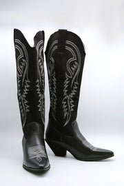 Embroidered Western Boots
