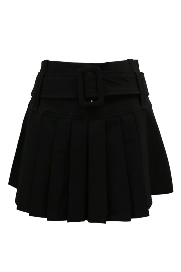 storets.com Gloria Belted Pleated Skirt