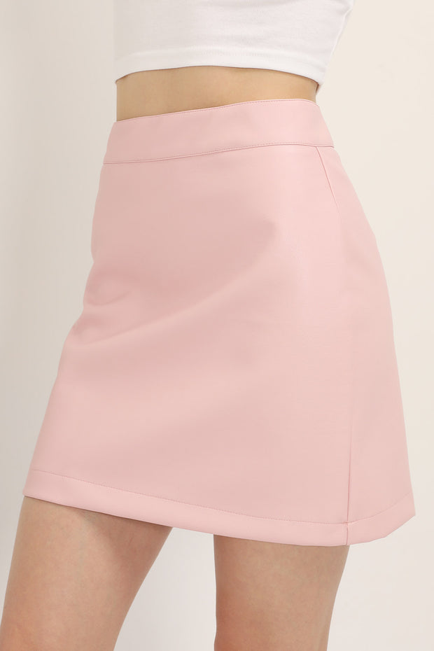 storets.com Sadie Pleather Mini Skirt