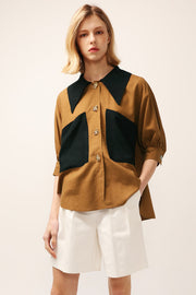 Sara Big Pocket Shirt