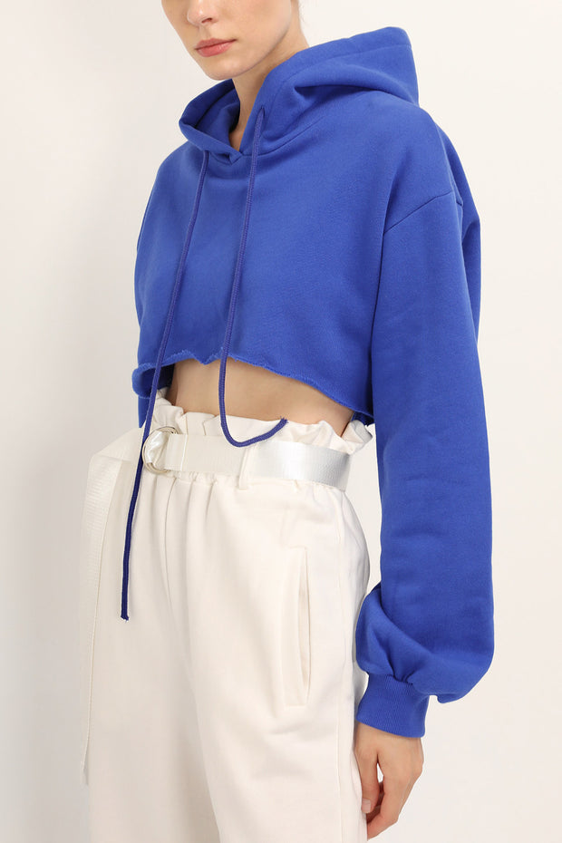 storets.com Haley Cropped Sweat Hoodie