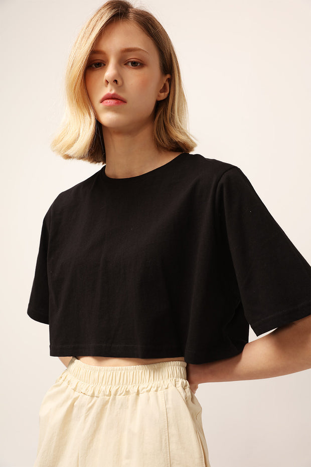 Alice Cropped T-shirt