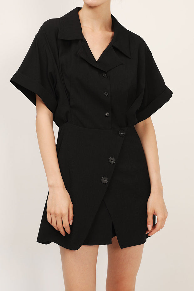 storets.com Brooklyn Shirt Wrap Dress