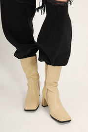 storets.com Slim Fit Heeled Ankle Boots