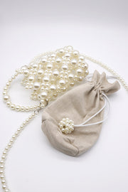 storets.com Pearl Beaded Crossbody Bag