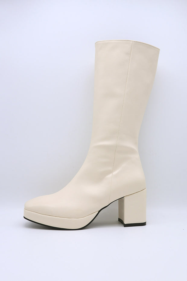 storets.com Pleather Zip Up Boots