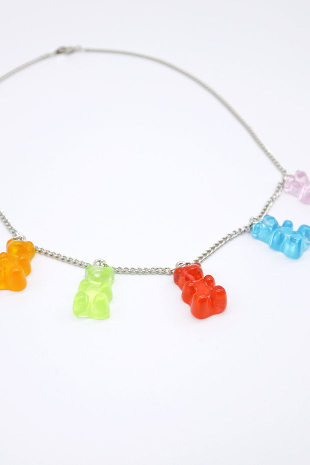 storets.com Gummy Bear Chain Necklace