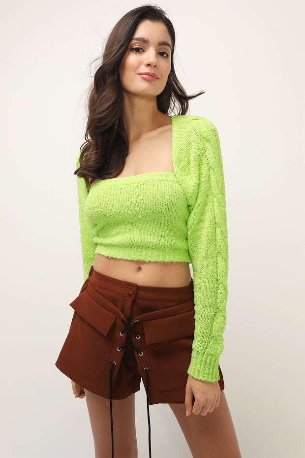 storets.com Regina Knit Shrug And Tube Top Set