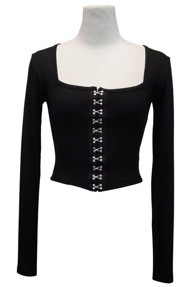 storets.com Megan Hook Square Neckline Top
