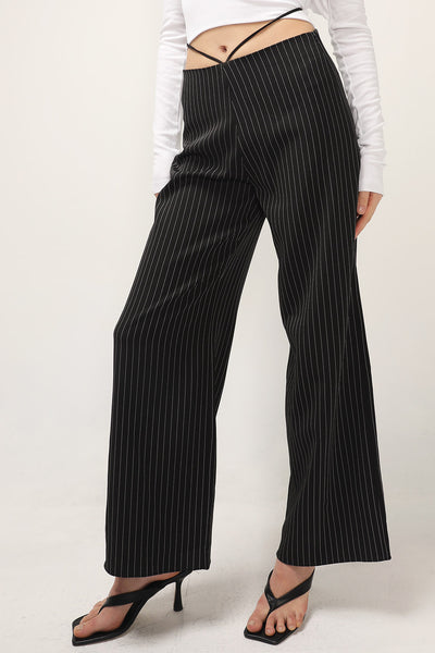 storets.com Virginia Pin Striped String Pants
