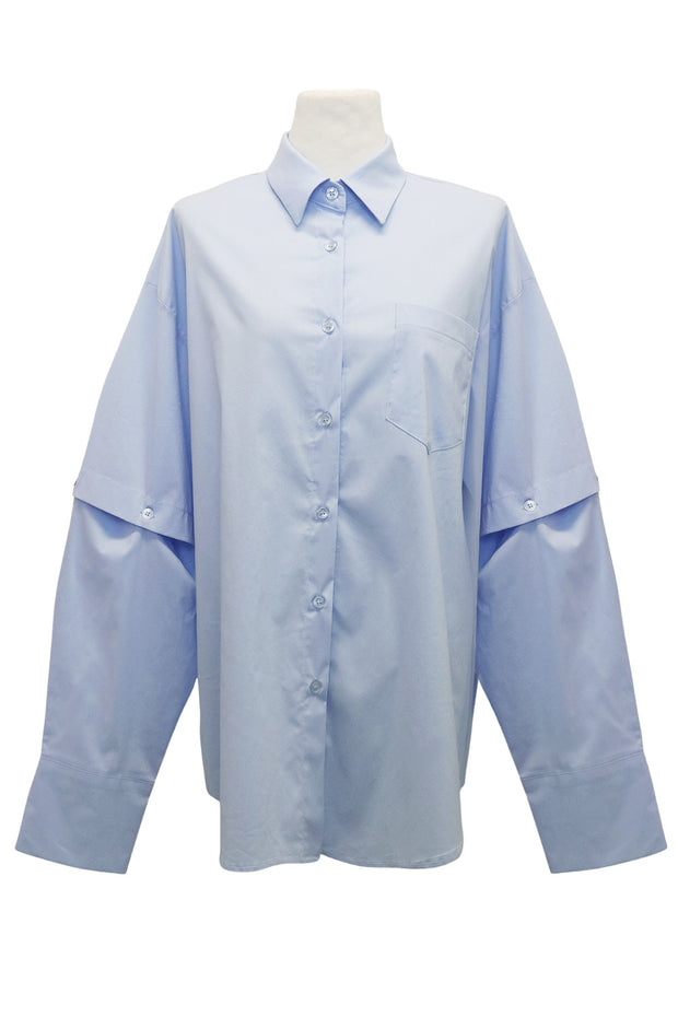 storets.com Sasha 2-Way Detachable Sleeve Shirt