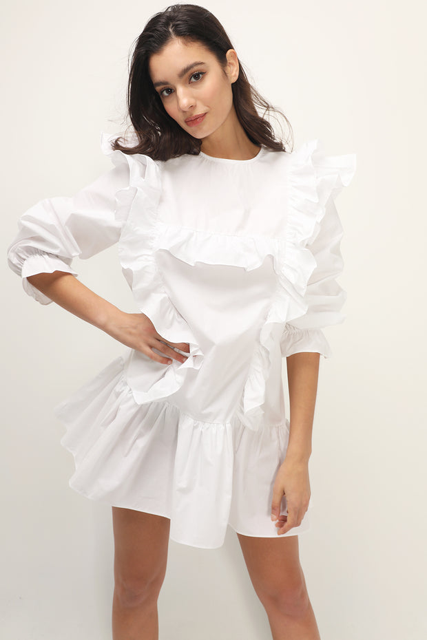 storets.com Alison Ruffled Dress