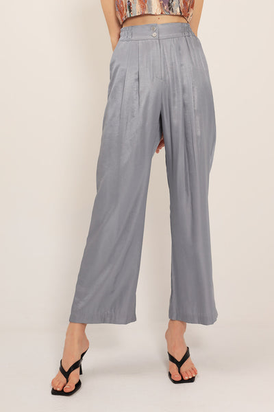 Kate Pintuck Wide Leg Pants