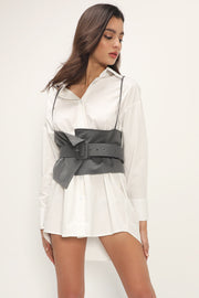 storets.com Kaylani Shirt And Bustier Set