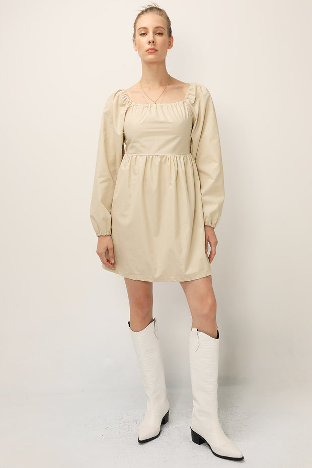 storets.com Joy Coated Babydoll Dress