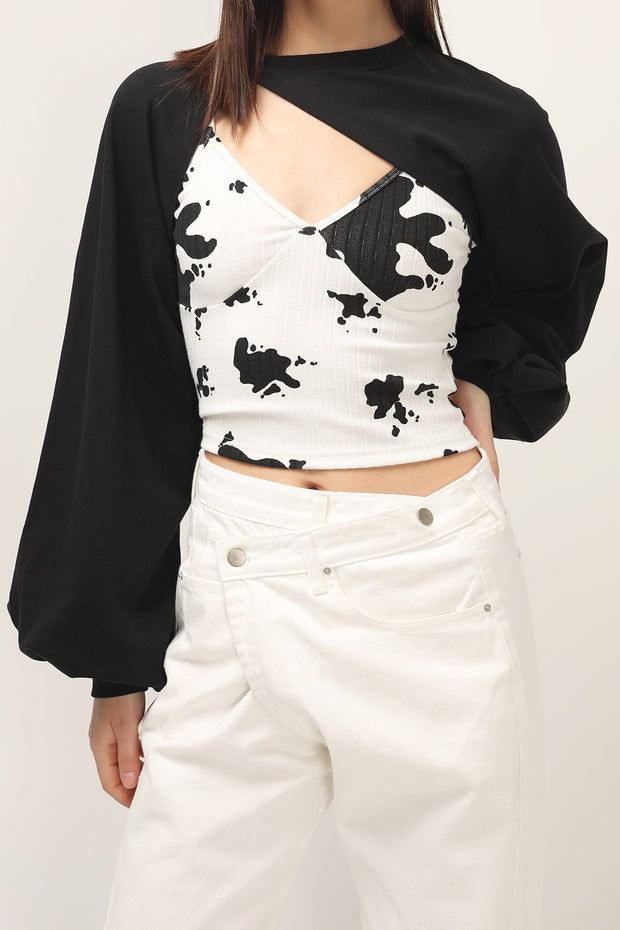 storets.com Lacey Super Cropped Top