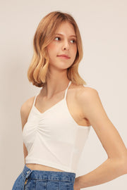 storets.com June Ruched Crop Top
