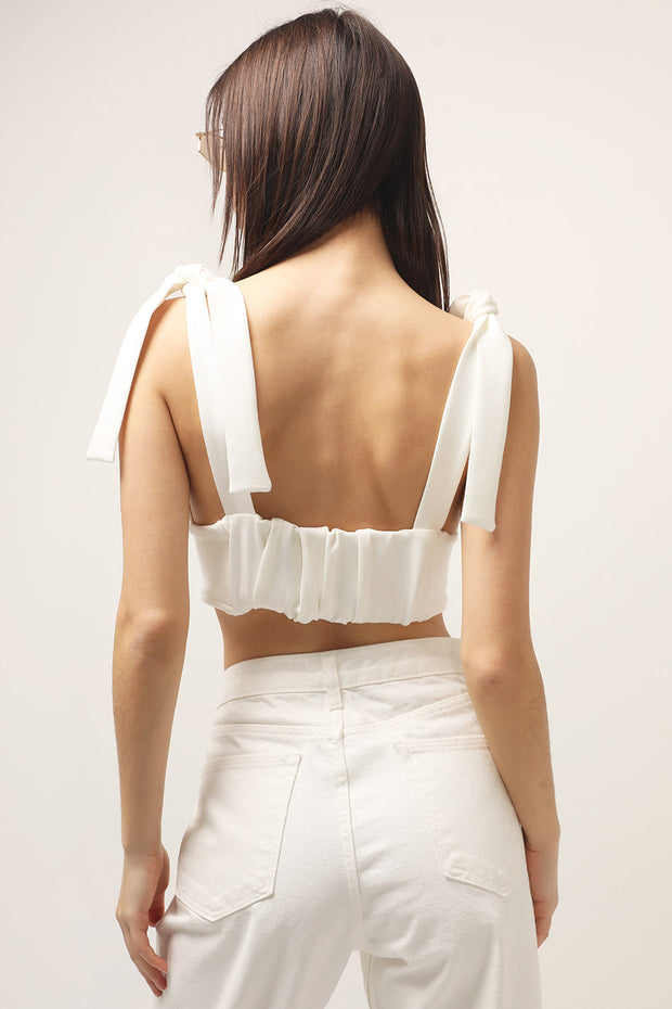 storets.com Shelby Tie Strap Bustier
