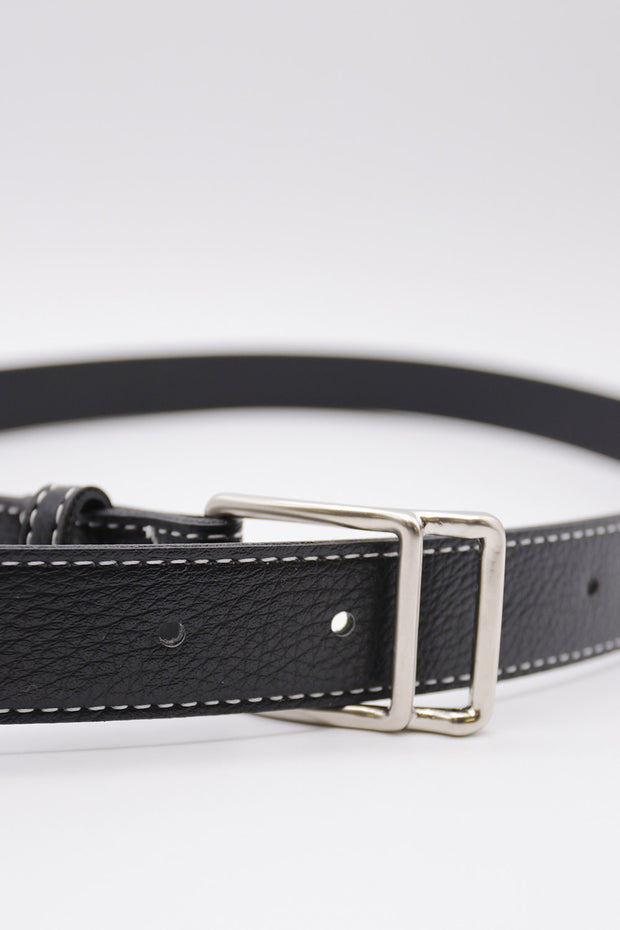 Stitch Pleather Belt