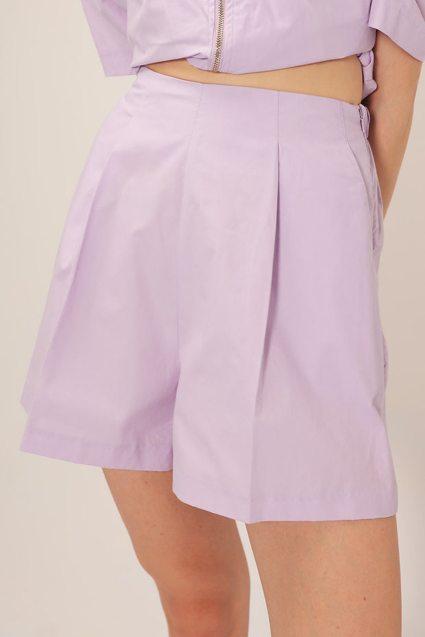 Abigail Pintuck Shorts