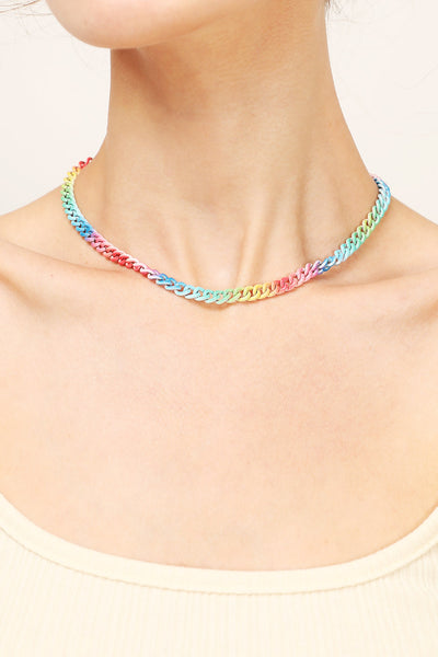 storets.com Rainbow Chain Necklace