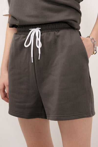 storets.com Kylie Drawstring Sweat Shorts
