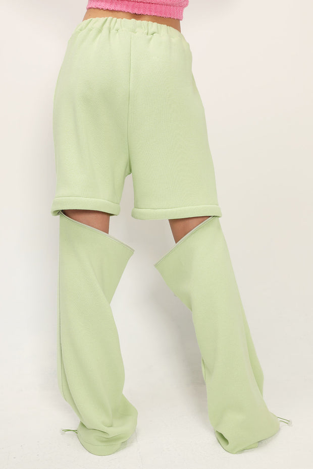 storets.com Molly Detachable Splicing Sweat Pants